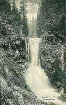 Vodopád Bílé Opavy - dobová pohlednice